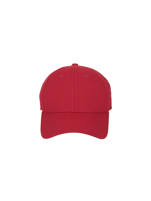 NEW ERA Men Red Ne Basic 39Thirty Baseball Cap