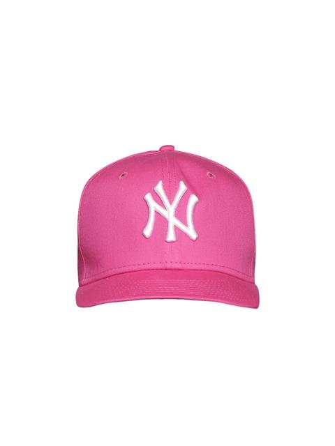 NEW ERA Kids Pink 940 Mlb League Basic Neyyan Baseball Cap