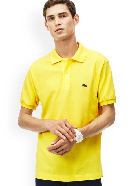 Lacoste Men Yellow L.12.12 Polo