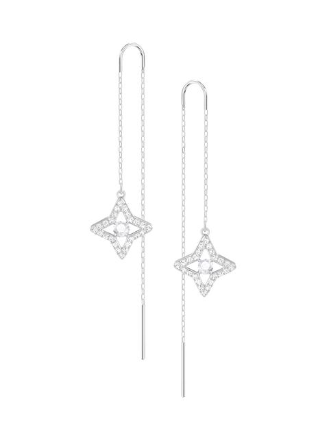 SWAROVSKI Sparkling Pierced Earrings