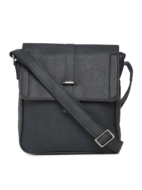 Baggit Navy Solid Sling Bag
