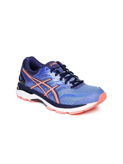 ASICS Women Blue GT-2000 5 Running Shoes