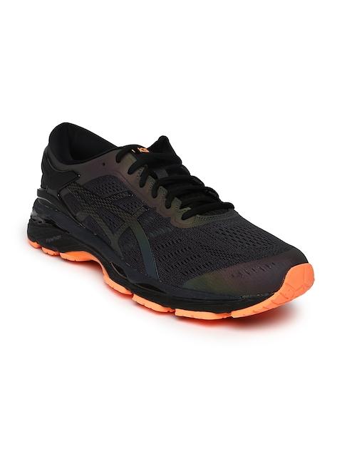 ASICS Men Black GEL-KAYANO 24 LITE-SHOW Running Shoes