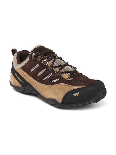 Wildcraft Men Tan Brown Suede Mamba Sneakers