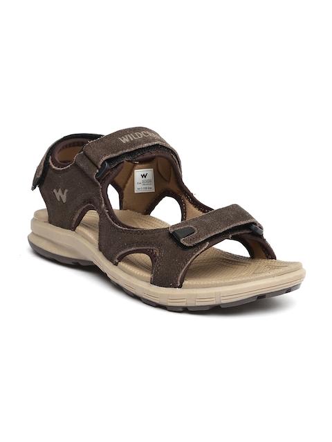 Wildcraft Men Brown Suede Sports Sandals