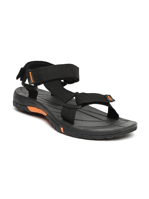 Wildcraft Men Black Sports Sandals