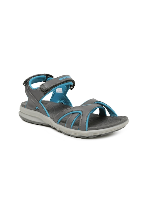 Wildcraft Women Grey Nemo Sandals