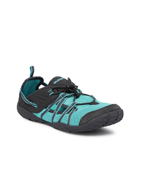 Wildcraft Women Blue & Black Terrafin Gait Sneakers