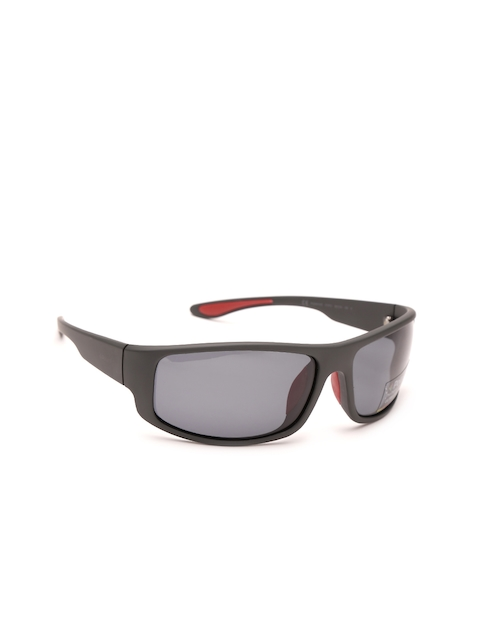 Polaroid Men Polarised Mirrored Rectangle Sunglasses 3016/S X1Z 66Y2