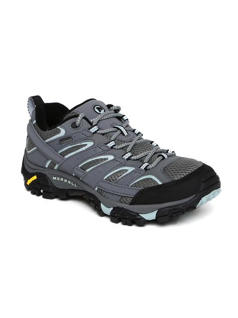 Merrell Women Grey MOAB 2 GTX Trekking Shoes