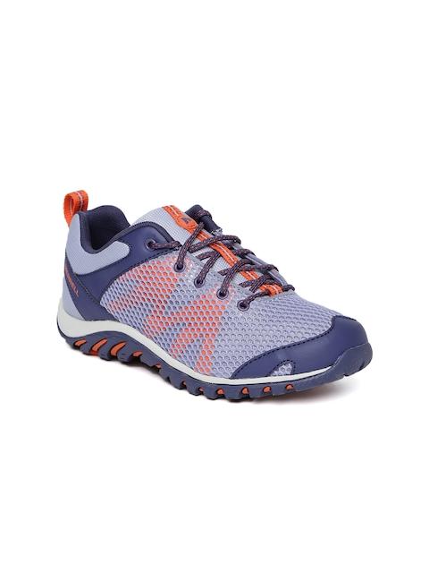 Merrell Women Purple RAPIDBOW Trekking Shoes