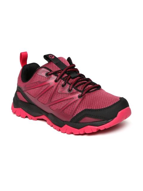 Merrell Women Coral Red CAPRA RISE Trekking Shoes