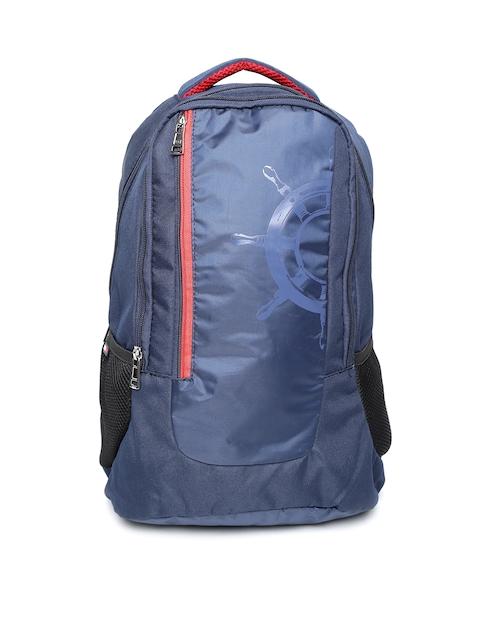 Tommy Hilfiger Unisex Navy Solid Backpack