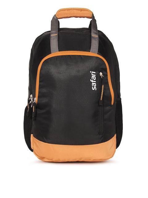 Safari Unisex Black Solid Rover 19 Backpack