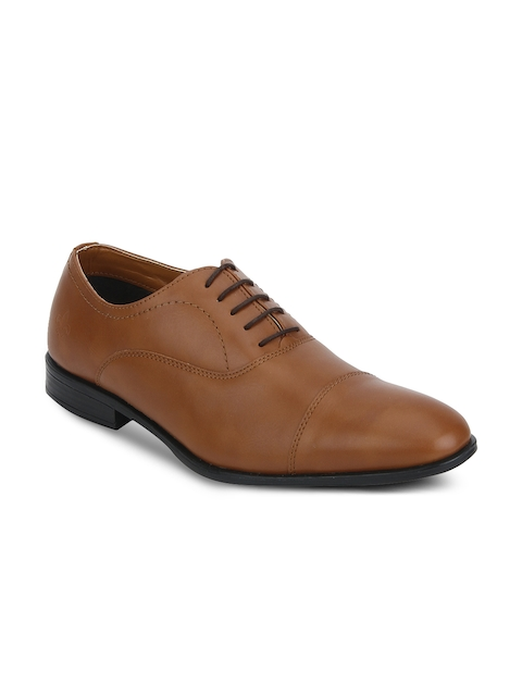 Bond Street By Red Tape Men Tan Brown Oxfords