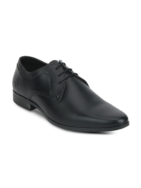 Bond Street By Red Tape Men Black Derbys