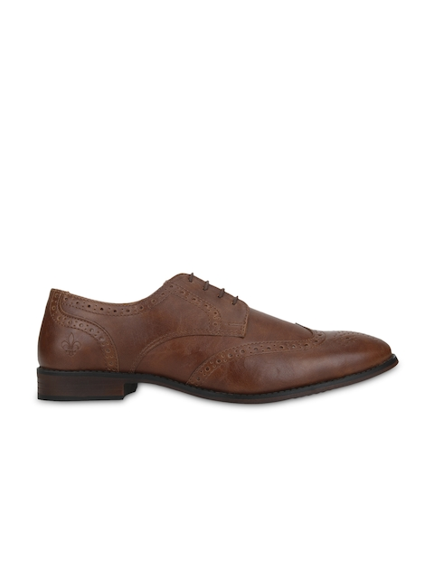 Bond Street By Red Tape Men Tan Brown Perforated Brogues