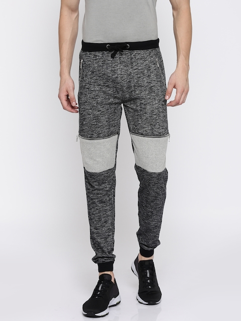 Pepe Jeans Men Charcoal Grey Joggers