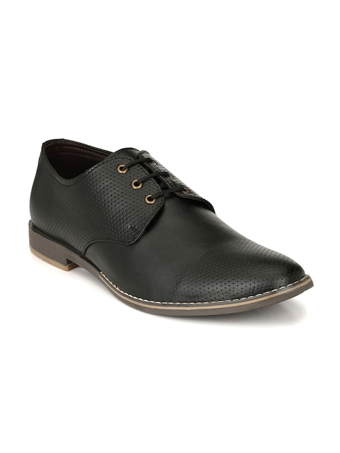 Fentacia Men Black Derbys