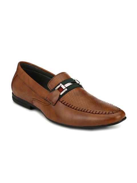 Fentacia Men Brown Semiformal Slip-On Shoes