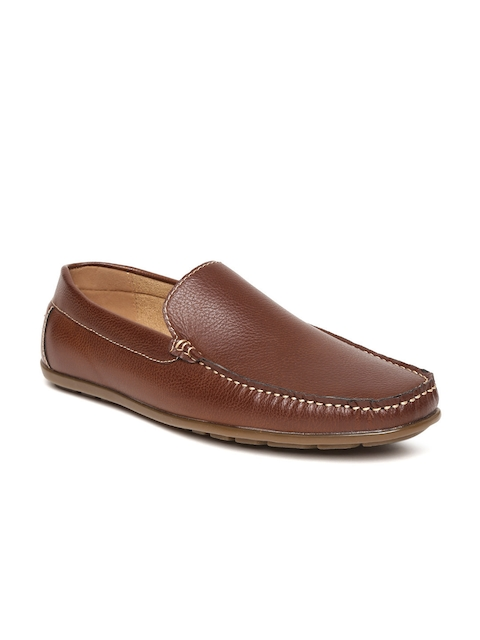 Bata Men Brown Driving Shoes