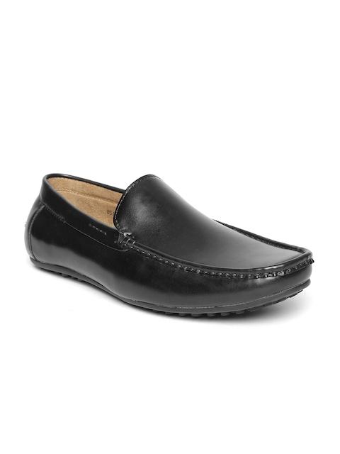 Bata Men Black Driving Shoes