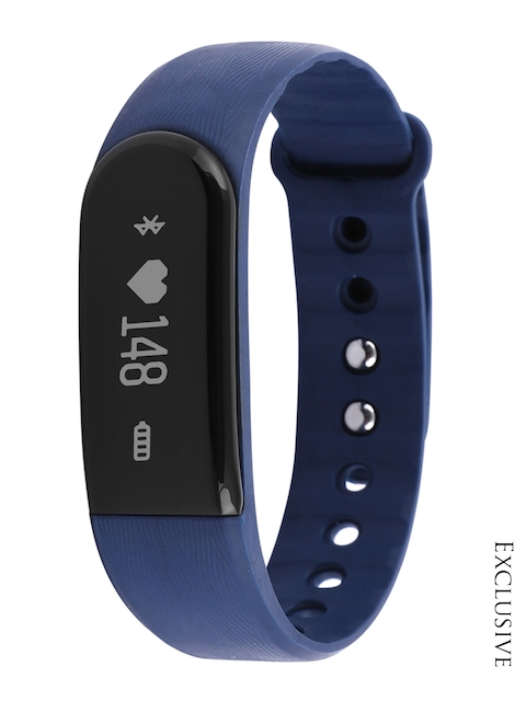 QUO Unisex Blue Fitness Band