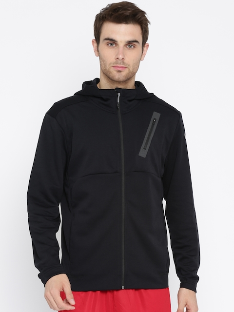 Puma Men Black Bonded Tech Sporty Jacket