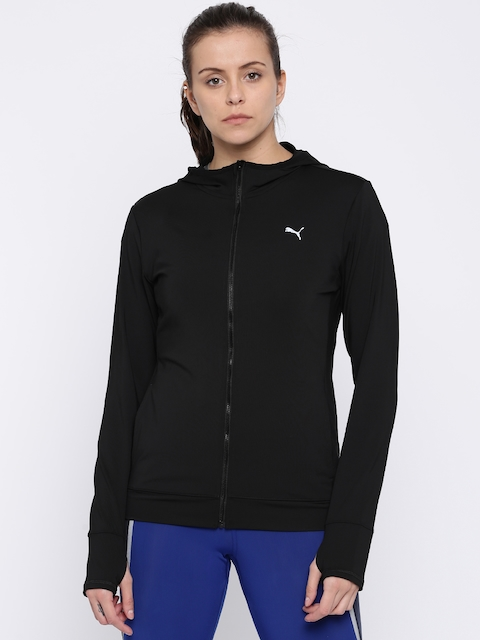 Puma Women Black Solid Essential Sporty Jacket