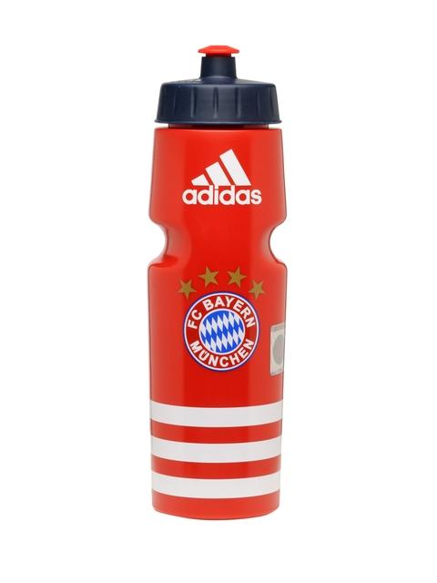 Adidas Unisex Red FC BAYERN MUNCHEN Printed Water Bottle