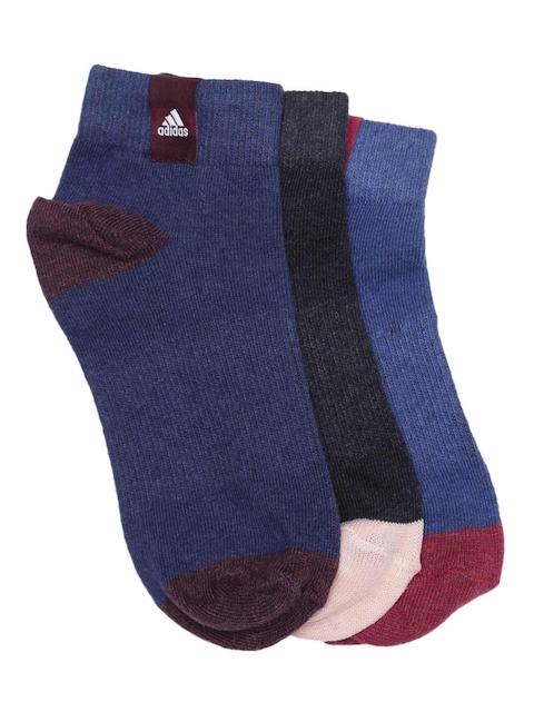 Adidas Unisex PER LA 3P Pack of 3 Ankle-Length Socks