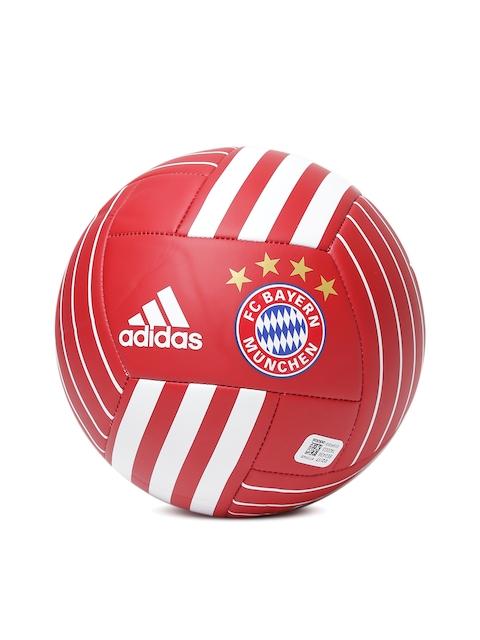 ADIDAS Men Red FC Bayern Munchen Printed Football