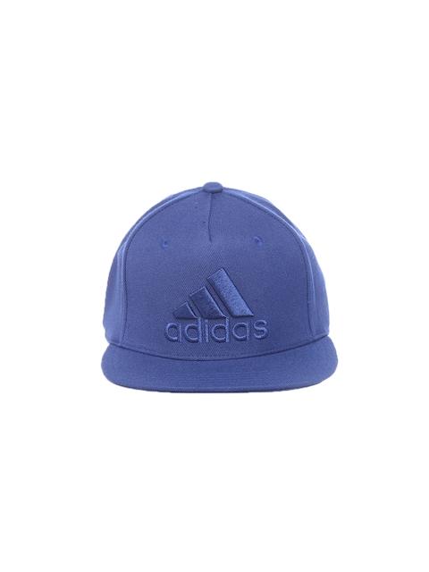 ADIDAS Unisex Blue Flat Logo Cap