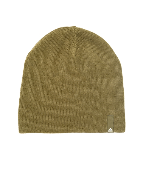 Adidas Unisex Olive Green PERF Beanie