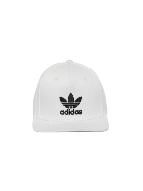 Adidas Originals Unisex White AC TRE Flat Cap