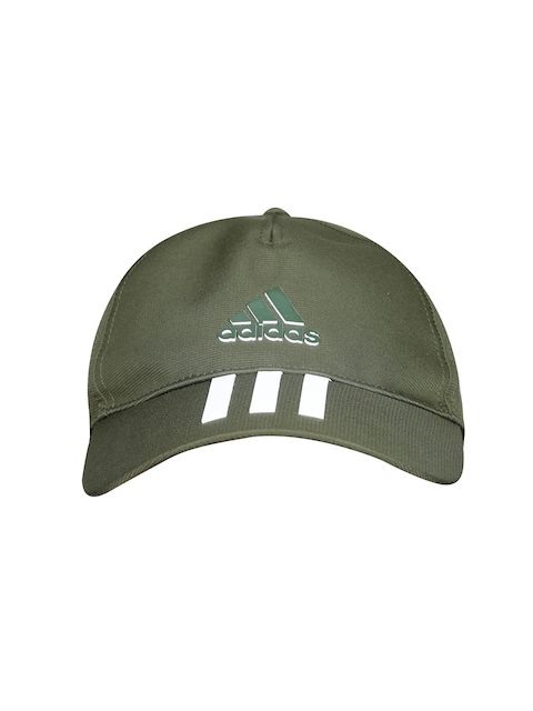 Adidas Unisex Olive Green 6P 3S CLMLT Solid Cap