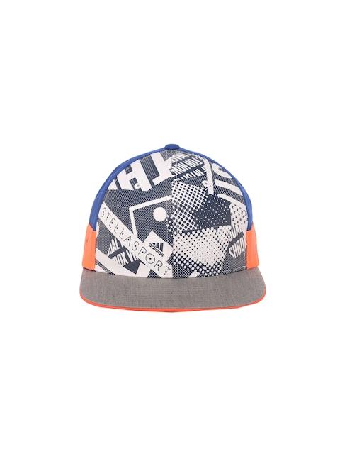 Stella McCartney by Adidas Women Blue SC Printed Cap