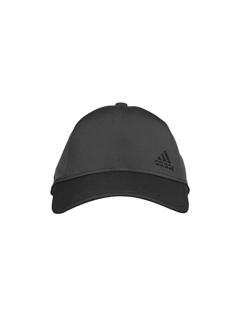 ADIDAS Unisex Charcoal Grey Bonded Solid Baseball Cap