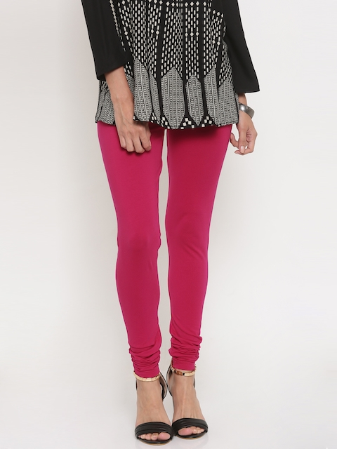 Global Desi Pink Churidar Leggings