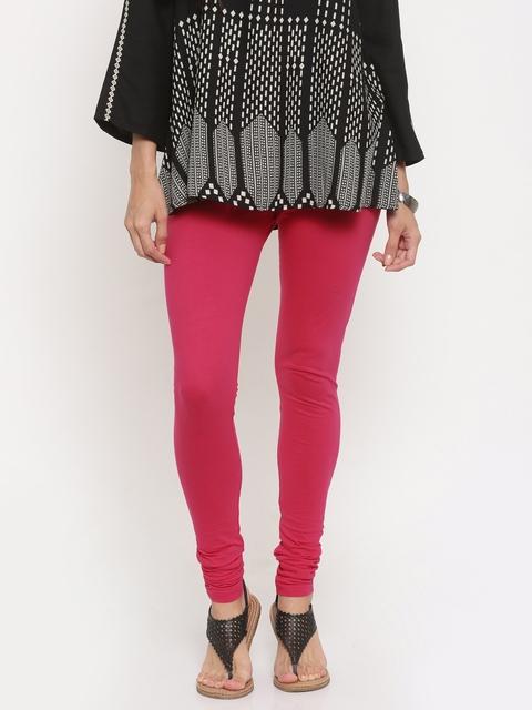 Global Desi Pink Churidar leggings