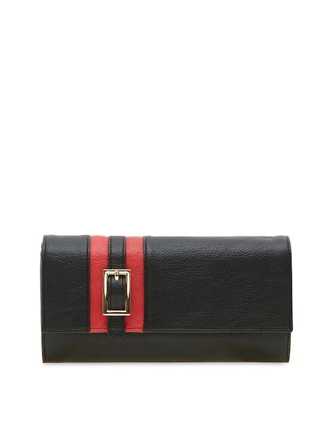 ESBEDA Women Black Two Fold Wallet
