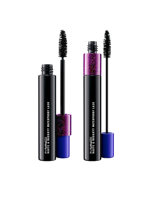 M.A.C Shockproof Haute & Naughty Waterproof Lash Mascara - Black