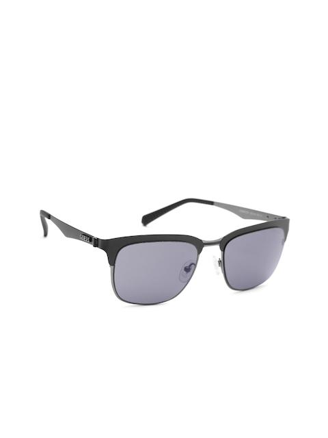 GUESS Unisex Browline Sunglasses 6900 02A