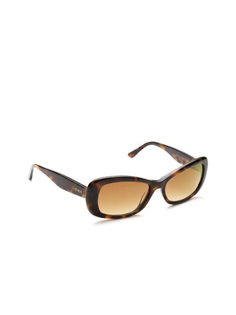 GUESS Women Rectangle Sunglasses 7476 52F