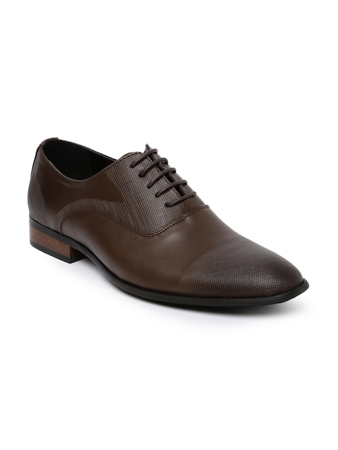 Tresmode Men Brown Formal Shoes