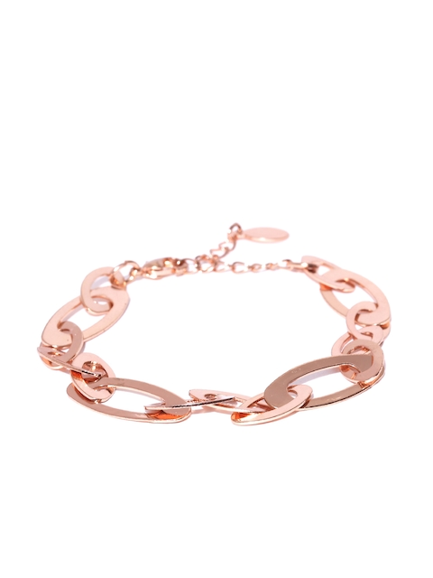 Accessorize Rose Gold-Toned Link Bracelet