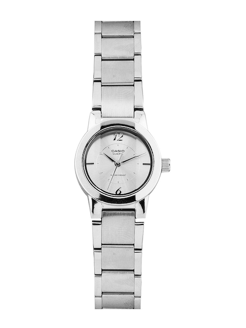 Casio Enticer Women Silver Analogue Watches (SH35) LTP-1230D-7CDF  available at myntra for Rs.1840