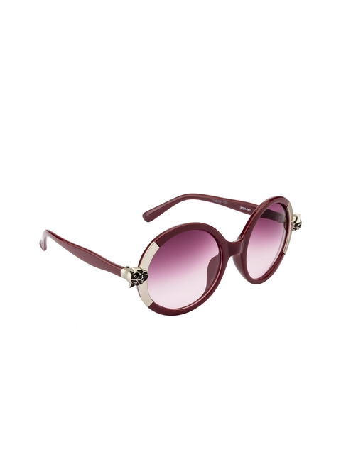 Ted Smith Women Round Sunglasses