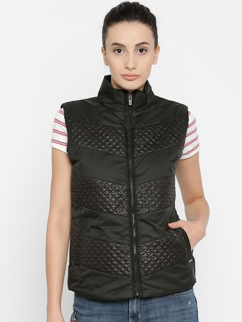 Pepe Jeans Women Black Solid Jordon Fit Bomber