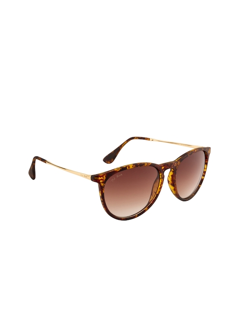 Ted Smith Unisex Oval Sunglasses TS4171